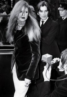 Pattie Boyd et George Harrison, Sixties Icones