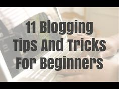 11 blogging tips and tricks for beginners. Get more traffic and income from your blog. - http://ift.tt/1ltodHp   Let's Connect! Twitter - https://twitter.com/MrJustinBryant  Facebook -  http://ift.tt/1LQomnx  Google - http://ift.tt/1PaQTrN  In this video you will learn the top blogging tips and tricks for beginners. I'll show you how to increase blog traffic get more returning visitors get more social media shares per posts and how to get more revenue. I'll mention things like making your…