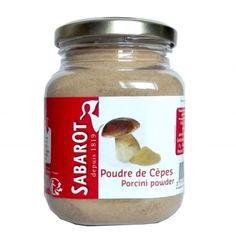 Poudre de cèpes séchés 100g Sabarot