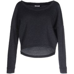 Only Sweatshirt (£27) ❤ liked on Polyvore featuring tops, hoodies, sweatshirts, slate blue, blue sweatshirt, blue long sleeve top, long sleeve sweatshirt, pocket sweatshirt and long sleeve tops