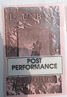 LUBA ALL OR NOTHING TOUR 1990 BACKSTAGE PASS WINNIPEG MANITOBA CANADIAN SINGER POST PERFORMANCE AND DRESSING ROOM Safely Stored For Over 25 Years   This Will be a great Gift for any Fan  Shipping will be within 2 days of your payment  All Sales are Guaranteed Satisfaction  We are Fans so we know what fans Expect  THEMIGHTYFINWAH All Or Nothing, All Sale, Dressing Room, Backstage, Great Gifts, Fans, Singer, Tours, Walk In Closet