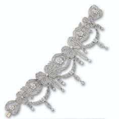 Diamond choker-necklace, circa 1910