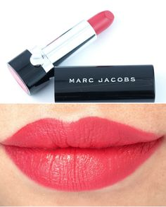 """Marc Jacobs Le Marc Lip Creme Lipstick in """"So Sofia"""", """"Rei of Light"""" & """"Je T'Aime"""": Review and Swatches"""