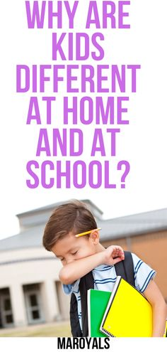 Why Are Kids Different at Home and at School? - Parenting tips and advice Parenting Teens, Parenting Humor, Parenting Advice, Natural Parenting, Adhd And Autism, Thing 1, Kids Behavior, New Parents, Kids Learning