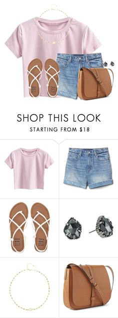 """I love chik-fil-a"" by victoriaann34 ❤ liked on Polyvore featuring Gap, Billabong, Kendra Scott and Ela Rae"