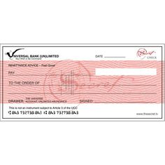 The Secret team has created a blank check available as a free download on The Secret website. You fill in your name, the amount, and the details, and place it in a prominent place where you will see it every day. When you look at the check, feel the feelings of having that money now. Imagine spending that money, all the things you will buy and the things you will do. Feel how wonderful that is. Know it is yours, because when you ask, it is.