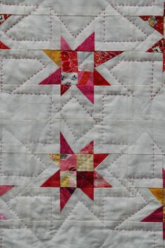 Hand Quilting Designs, Machine Quilting Patterns, Quilting Projects, Quilt Patterns, Sewing Projects, Quilt Designs, Star Quilts, Quilt Blocks, Handmade Quilts For Sale