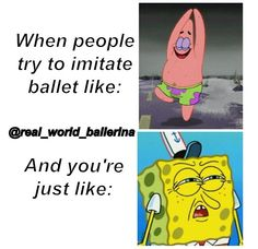 Why do people stereotype ballet dancers as pink tutus and pirouettes? I'd like to see them try ballet!