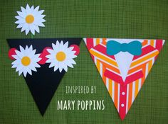 MARY POPPINS flags/bunting
