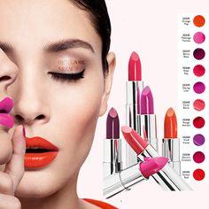 The ONE 5-u-1 Colour Stylist Intense ruž za usne *Velike,smele i upadljive usne *The ONE Intense kolekcija sadrži intenzivne nijanse koje osvežavaju vaš izgled i daju mu posebnu notu. *Raskošna boja *Hidrira *Osećaj prijatnosti na usnama *Polu-mat završnica *Postojana boja Oriflame Cosmetics, Cosmetic Companies, Lipsticks, Tips, Beauty, Tags, Lipstick, Beauty Illustration, Counseling