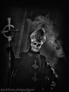 Papa Emeritus from Ghost \m/