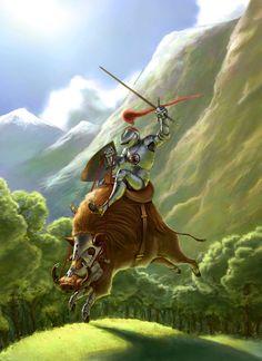 The Almighty Warthog by Clauthor.deviantart.com on @deviantART