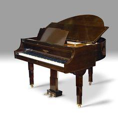 Strohmenger Art Deco Grand Piano ca. 1933 :: The Period Piano Company