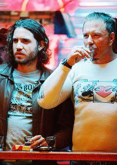 Edgar Ramirez  Mickey Rourke in Domino