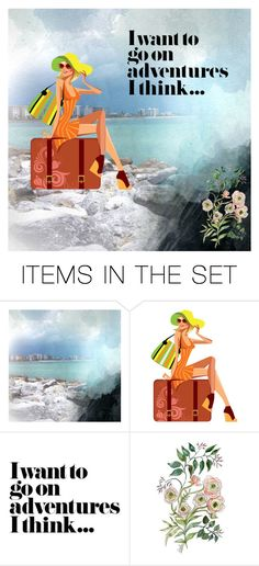 """""""A New Adventure Awaits"""" by m-aviles-ma ❤ liked on Polyvore featuring art"""