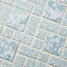 """You'll love the Academy 11.75"""" x 11.75"""" Porcelain Mosaic Tile in Blue at Wayfair - Great Deals on all Home Improvement products with Free Shipping on most stuff, even the big stuff."""