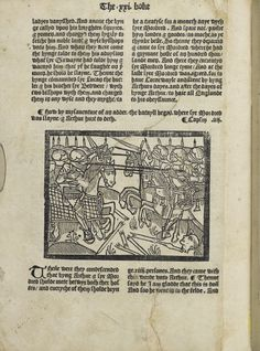 A very early edition of Le Mort d'Arthur. Antony saw the work through the press for his friend, Thomas Mallerie