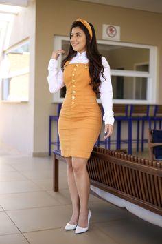 Real Association Of Sugar Mummies: Congrats! Sugar Girl Micah Has Chosen You Church Outfits, College Outfits, African Fashion Dresses, Fashion Outfits, White Shirt Outfits, African Wedding Dress, Corporate Attire, Christian Clothing, Clothing Hacks