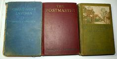 Joseph Lincoln's Cape Cod books, Kent Knowles, The Postmaster, and Great Aunt Lavinia