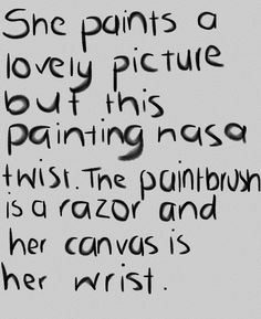 me art mine quote Black and White depression beautiful Grunge ...