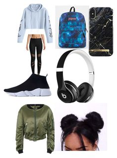"""""""Untitled #7"""" by stefania-serban on Polyvore featuring X By Gottex, JanSport and Beats by Dr. Dre"""