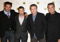 24 Surprising Hollywood Relatives BROTHERS Actors and brothers William Baldwin, Stephen Baldwin, Alec Baldwin and Daniel Baldwin are living proof that talent really can run in the family. Stephen Baldwin, Alec Baldwin, Celebrity Siblings, Celebrity Photos, Baldwin Brothers, Baldwin Family, Justin Bieber News, Brothers Movie, Men Tv