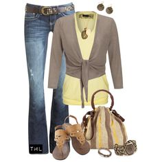 fall outfit, created by tmlstyle on Polyvore
