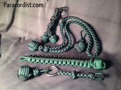 Paracordist Creations LLC: Philly Eagles football fan paracord monkeys fist knot gear!