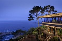 One of my all-time favorites hotels in the world. Hyatt Carmel Highlands Inn, Carmel, CA. Great times during Concours d' Elegance (1998/1999).