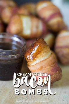 There's bacon. There's cream cheese. There's maple syrup. It tastes divine.