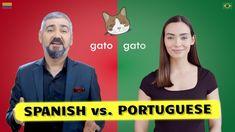 Spanish vs. Portuguese | How Similar Are Spanish and Portuguese Words? - YouTube Portuguese Words, Portuguese Language, Spanish Language, European Languages, Improve Yourself, Romance, Reading, Youtube, Movie Posters