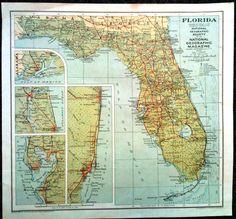 40 Best Florida maps images