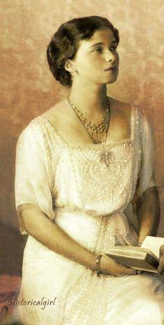 Grand Duchess Olga Nikolaevna of Russia - The eldest daughter of the last autocratic ruler of the Russian Empire, Emperor Nicholas II, and of Empress Alexandra of Russia