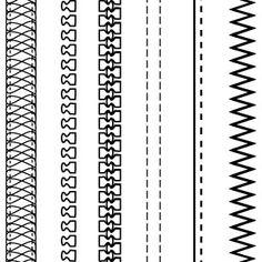 zipper technical drawing - trazo plano de cierre