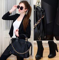 Glamour chic (by Ariadna Majewska) http://lookbook.nu/look/4359827-Glamour-chic