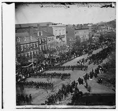 Lincoln's Funeral Procession 1865