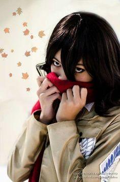 Character - Mikasa Ackerman /  Series - Attack On Titan /  Cosplayer - Lila Amihan