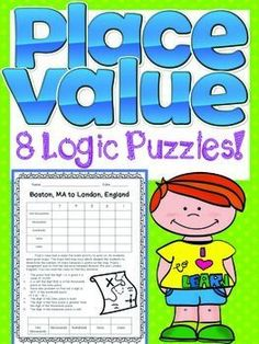 Place Value Logic Puzzles Enrichment / Gifted... by Golden Rule Days | Teachers Pay Teachers