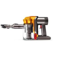 Dyson- -DC34 Handheld Vacuum, $199 at Sears. I can also research with Consumer Reports what they're top recommended vacuums currently are.