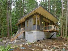 Vashon Island Cabin Design by Vandeventer Carlander Architects