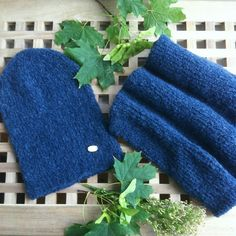 The blue brother of this sagebrush merino wool set is done!