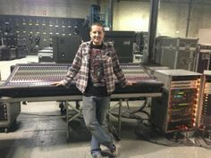Brandon Pratt is now a floor supervisor at Clair Canada, one of the largest live audio companies in Toronto that works with top artists throughout Canada and North America.