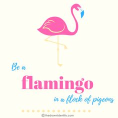 FLAMINGO - A humongous collection of my illustrated inspirational quotes to brighten even the darkest of days :) Under Construction, Flamingo, The Darkest, Identity, Inspirational Quotes, Day, Illustration, Projects, Collection