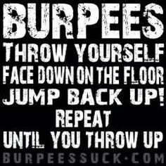 Fitness Quotes : QUOTATION – Image : Description Then…. Derby Burpees are a killer! Crossfit Motivation, Crossfit Humor, Gym Humor, Crossfit Quotes, Crossfit Images, Rowing Quotes, Motivation Boards, Body Motivation, Motivation Quotes