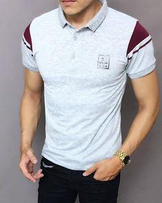 👕Áo thun nam dây kéo thời Trang ➡️Chất liệu: thun cotton co giãn 4 chiều,mượt,dày dặn,không xù lông,không rút,thấm hút mồ hôi ✏️Size: XL,XXL,XXXL(tương đương M,L,XL) 〽️Màu sắc:4 màu như hình 👍Hàng chuẩn shop(hình ảnh chụp thật,xấu hoàn tiền 200%) Zalo: 0932064341 Polo Rugby Shirt, Mens Polo T Shirts, Boys T Shirts, Casual T Shirts, Camisa Polo, Sport Wear, My T Shirt, Shirt Designs, Mens Tops
