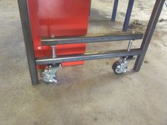Chuck's Ultimate? Welding table build - The Garage Journal Board