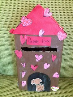 #Modpodge For Kids is great for making Valentines Day boxes and school projects! (Valentins Day Boxes For Girls)