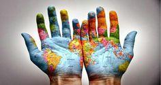 O mundo pode estar em nossas mãos... 29 de Maio, Dia do Geógrafo!!!!