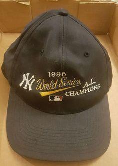 1996 World Series AL Champions Hat New York Yankees MLB #NewYorkYankees
