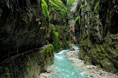 Traveling Page - 🌍 Partnach Gorge, Bavaria, Germany Wanderlust, Bavaria Germany, Heaven On Earth, Holiday Travel, Adventure Travel, Travel Photos, Trip Advisor, Travel Destinations, Greece